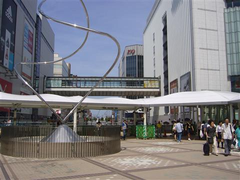 JR町田駅オブジェ