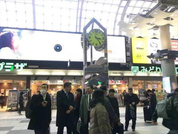 品川駅中央改札付近