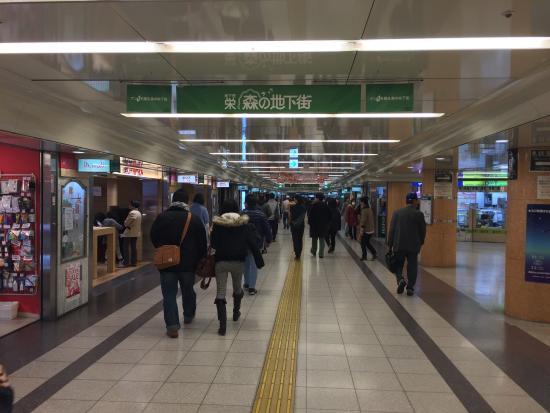 栄駅地下通路