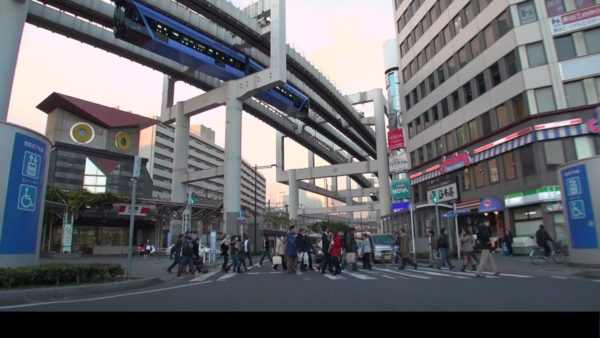 千葉駅付近