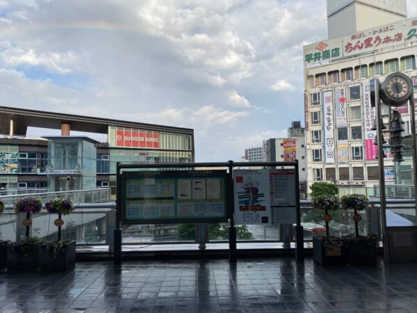 小田原駅東口前(2階)